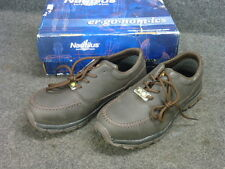 NEW! NAUTILUS SAFETY FOOTWEAR N1645 SD MOC STEEL TOE OXFORD SHOES, SIZE: 9 WIDE