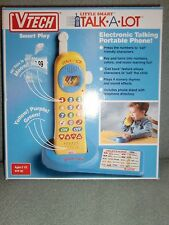 V*TECH LITTLE SMART TALK*A*LOT PHONE ELECTRONIC PORTABLE TOY TODDLER 1992 VTECH