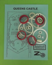 1978 Zaccaria Queens Castle pinball rubber ring kit