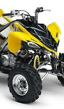 ATV,SHOCK COVER,PROTECTEUR D'AMORTISSEUR,VTT,YAMAHA,HONDA,MONSTER YELLOW,