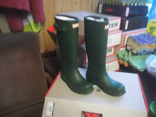 HUNTER WELLINGTONS WELLIES  IN HALIFAX & BRADFORD ORIGINAL GREEN MENS SIZE 10