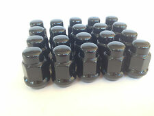 20 pcs Wheel Nuts Black Falcon XK XL XM XP XR XT XW XY XA XB XC XD XE XF XG XH