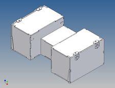 SBKA100 - Staubox für TAMIYA Kühlauflieger statt Reserveradhalter M1:14
