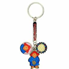 Official Paddington Bear In the Pink Charm Keyring - Retro Movie Collectable