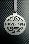 LOVE YOU BAUBLE Personalised Laser Cut Decoration Christmas Tree Ornament
