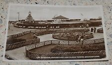 THE GARDENS, BANDSTAND & CLOCK TOWER, BROADSTAIRS  -   KENT