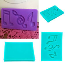 Silicone Music Note Syncopated Fondant Mold Cake Sugarcraft Mould Mould