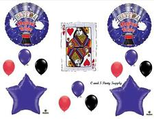 MAGICAL HAPPY BIRTHDAY PARTY BALLOONS Decorations Supplies Magician Casino