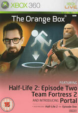 THE ORANGE BOX (Half-Life 2, portale, Team Fortress 2) XBOX 360 - 1st Class consegna