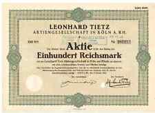 Leonhard Tietz AG in Köln  1923  Kaufhof