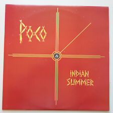 Poco - Indian Summer LP Vinyl UK 1st Press + Inner 1977 A1/B1 NM/NM