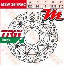 Disque de frein Avant TRW Lucas MSW254RAC Honda CBR 1000 RR Fireblade SC57 06-07