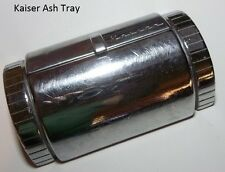 1940's 1950's Kaiser Chrome & Stainless Steel Original Ash Tray With flip Up Lid