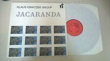 LP Jazz Klaus Ignatzek - Jacaranda (8 Song) TI / TIMELESS