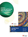 Laying Down the Law (9th ed) + Concise Australian Legal Dictionary (5th ed) valu