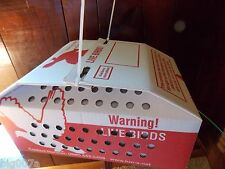 1 Horizon Quail Nest or Baby Chick Shipping Boxes for Live Birds.