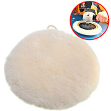 9 inch Soft Sponge Car Polisher Waxing Polishing Buffer Pad Lambs Wool Cleaner