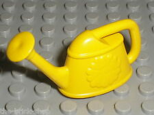 Arrosoir LEGO yellow minifig Watering Can ref x663 / Set 4167 5895 3149 3240 ...