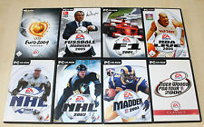 8 pc jeux collection FIFA NBA Live NHL tiger woods au Football Manager (pz 13 14)