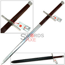Witcher 2 Geralts Bastard Steel Sword Replica (440 Stainless) Full Sized