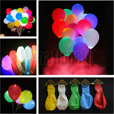 20X Plastic LED Multi-Color Balloon Wedding Lights Up Decor Party W-nationals