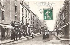 St NAZAIRE (44) - Rue de Nantes à hauteur de la rue de la Gare