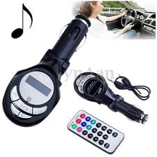 Car MP3 Player Wireless FM Transmitter USB SD MMC Slot LCD with Remote Control