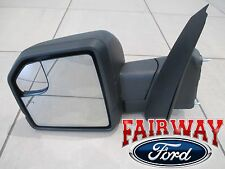 15 thru 17 F-150 OEM Ford Power Adj Heated Glass w/ Turn Signal LH Driver Mirror
