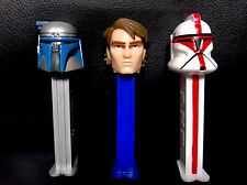 Star Wars™ EPISODE II Attack of the Clones PEZ DISPENSERS Character Collection