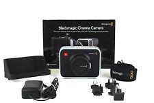 Blackmagic Design Cinema Camera Camcorder Body Only w/EF Mount