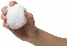 Snowball Battle - Game Set of 14 plush realistic snow balls for indoor fight