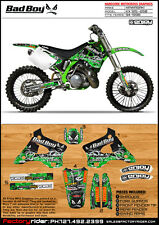 1994 1995 1996 1997 1998 KAWASAKI KX 125 250 Graphics Bad Boy Style By Enjoy Mfg