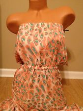 NWT Lovers & Friends Cheetah Print Maxi Dress Size Large $180