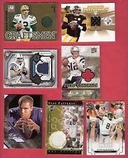 TOM BRADY PEYTON MANNING ANDREW LUCK A RODGERS BIG BEN JERSEY CARD MARIOTA RC