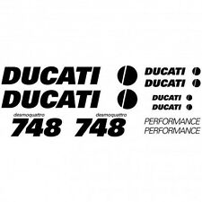 Kit Stickers Autocollants Moto - Ducati 748 desmo Réf.MOTO-028
