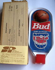 BUDWEISER BUD BEER TAP NETS BASKETBALL NEW IN BOX