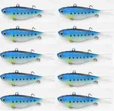 10x Soft Plastic Fishing Lures Soft Vibes 95mm 20g PILLY Barra Snapper Lures