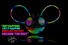 DEADMAU5 QUOTE ART PRE SIGNED PHOTO PRINT POSTER N.O 2 - 12 X 8 INCH