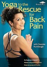 Yoga to the Rescue for Back Pain ~ DVD  Desire Rumbaugh