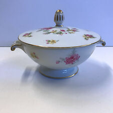 Cherry China Charmaine Sugar Bowl with Lid