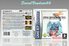 "BOITIER ""FINAL FANTASY TACTICS ADVANCE"", GAME BOY ADVANCE, FR. SANS LE JEU."