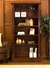 La Roque solid mahogany furniture large home office living room bookcase