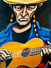 WILLIE NELSON PRINT poster martin guitar stardust cd one hell of a ride irs