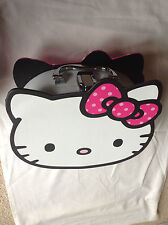 2 x Large Hello Kitty Vanity Cases Ideal for Make-up Storage & Other Small Items