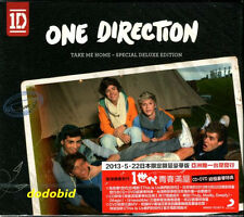 One Direction Take Me Home 2013 Taiwan [CD+DVD] Special Deluxe Edition New