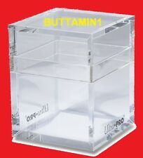 ULTRA PRO Deck Box ICE TOWER Holder FITS Pokemon MTG YuGiOh GAMING New SEALED