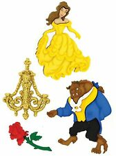 DISNEY BEAUTY AND BEAST Buttons Dress It Up Button Embellishments Jesse James