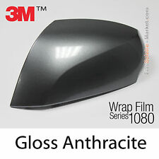 10x20cm FILM Gloss Anthracite 3M 1080 G201 Vinyle COVERING Car Wrap Wrapping