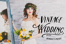 40 Vintage Wedding Lightroom & ACR Presets Professional presets Digital download
