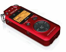 TASCAM DR-05r PORTABLE DIGITAL RECORDER -RED (version 2)